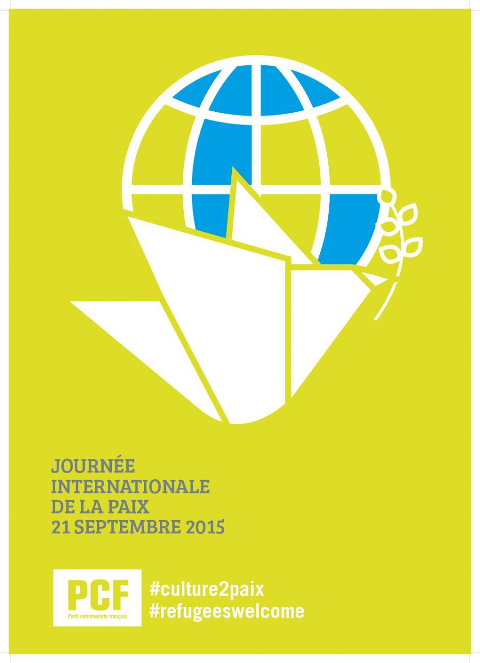 21 Septembre, mobilisons nous pour la paix, solidarité avec les réfugiés et migrants