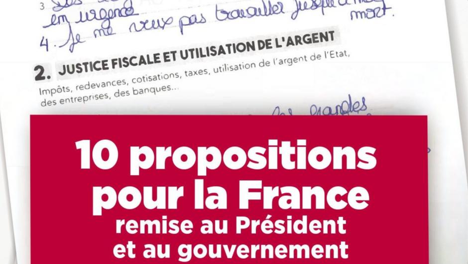 Grand Débat National : le PCF Cantal reçu en Préfecture