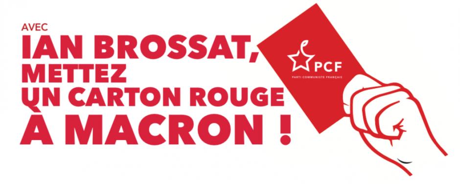 Le 1er Mai et dans les urnes, mettons un carton rouge à Macron !