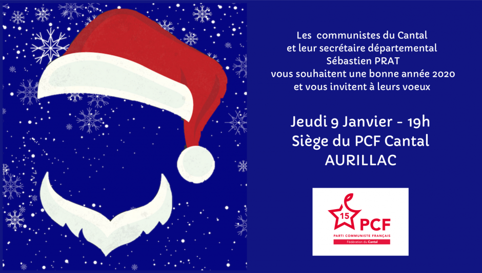 Voeux 2020 - PCF Cantal