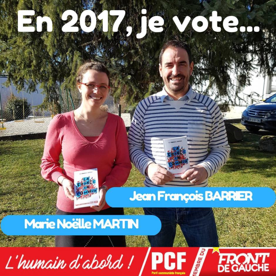 Appel à voter (1ère circonscription)