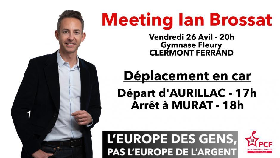 Meeting régional de Ian Brossat