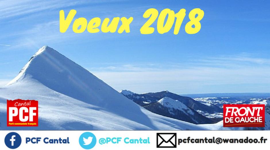 Voeux 2018 du PCF Cantal
