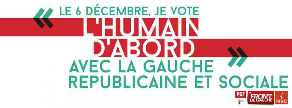 Réaction du PCF Cantal au 1er tour des Régionales 2015