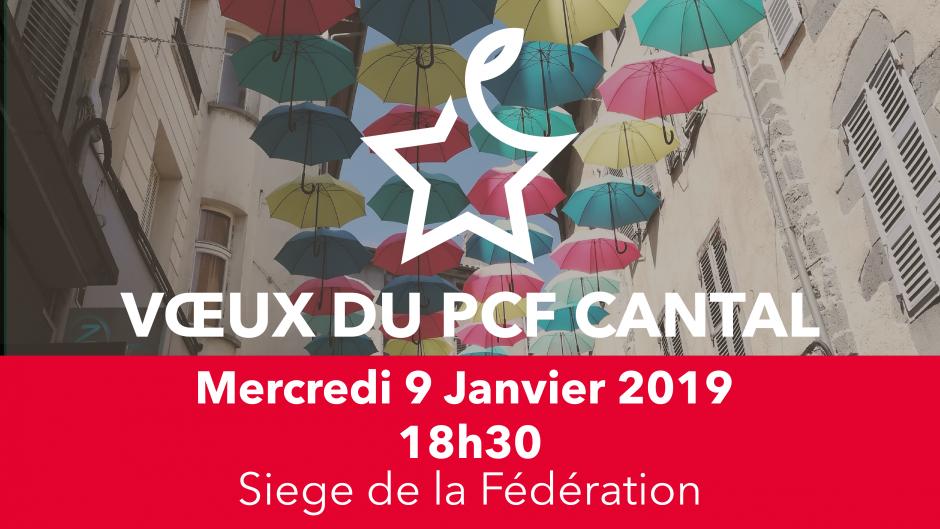 Voeux 2019 du PCF Cantal