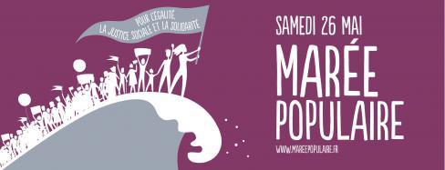 Marée populaire pour la justice sociale, l'égalité et la solidarité