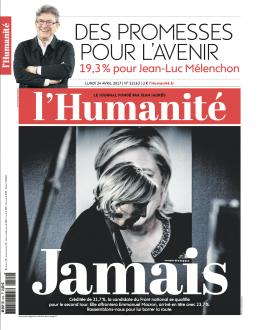1er tour de la présidentielle - Déclaration du PCF Cantal
