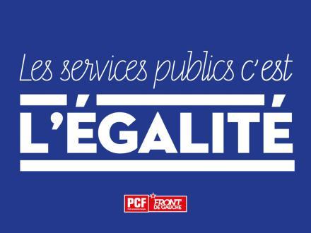 Le 22 Mai : donnons de l'avenir à nos services publics !