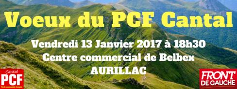 Voeux 2017 du PCF Cantal